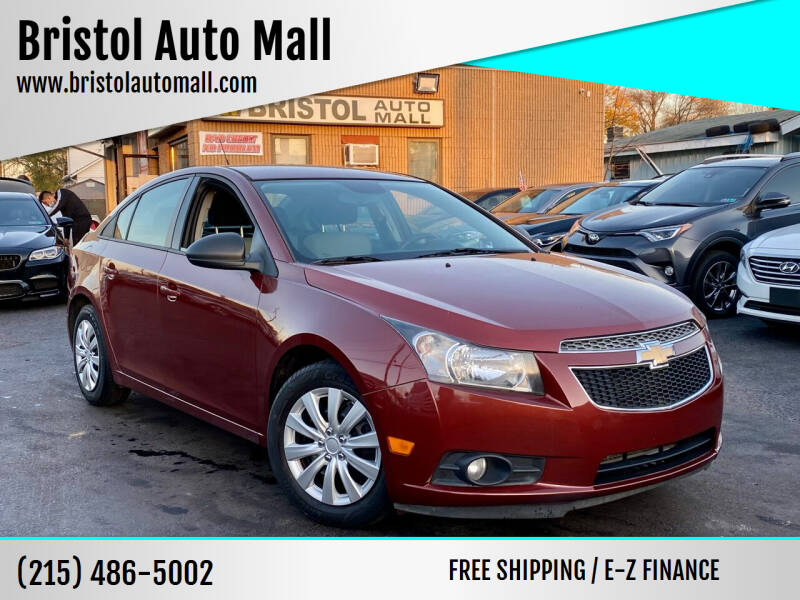 2013 Chevrolet Cruze for sale at Bristol Auto Mall in Levittown PA