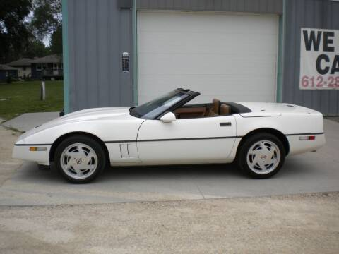 1988 Chevrolet Corvette for sale at Woody's Auto Sales Inc in Randolph MN
