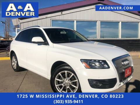 2012 Audi Q5 for sale at A & A AUTO LLC in Denver CO