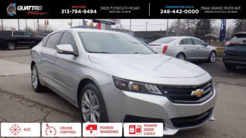 2016 Chevrolet Impala for sale at Quattro Motors 2 - 1 in Redford MI