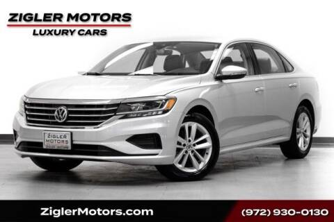 2020 Volkswagen Passat for sale at Zigler Motors in Addison TX
