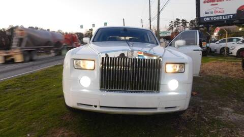 2005 Rolls-Royce Phantom for sale at Atlanta Fine Cars in Jonesboro GA