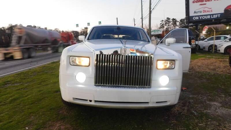 2005 Rolls-Royce Phantom for sale at Atlanta Fine Cars in Jonesboro GA