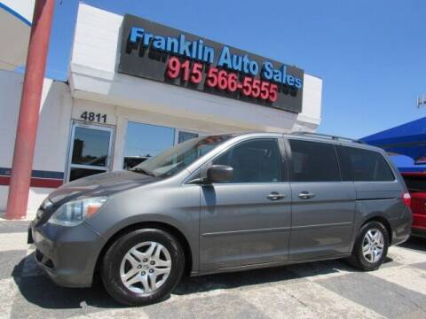 2007 Honda Odyssey for sale at Franklin Auto Sales in El Paso TX