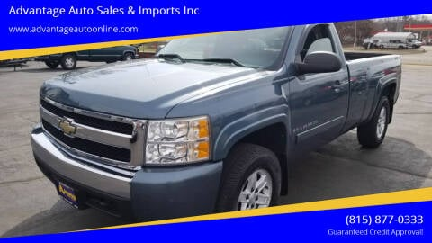 2008 Chevrolet Silverado 1500 for sale at Advantage Auto Sales & Imports Inc in Loves Park IL