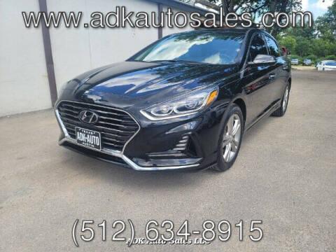 2018 Hyundai Sonata for sale at ADK AUTO SALES LLC in Austin TX