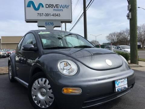 2004 Volkswagen New Beetle for sale at Driveway Motors in Virginia Beach VA