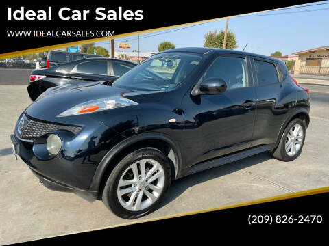 2012 Nissan JUKE for sale at Ideal Car Sales in Los Banos CA