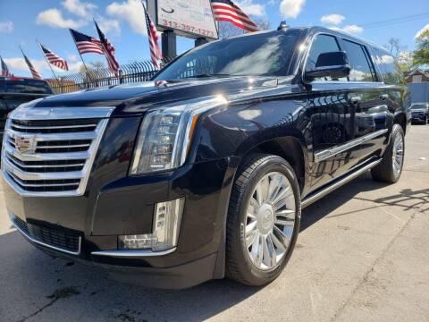 2015 Cadillac Escalade ESV for sale at Gus's Used Auto Sales in Detroit MI