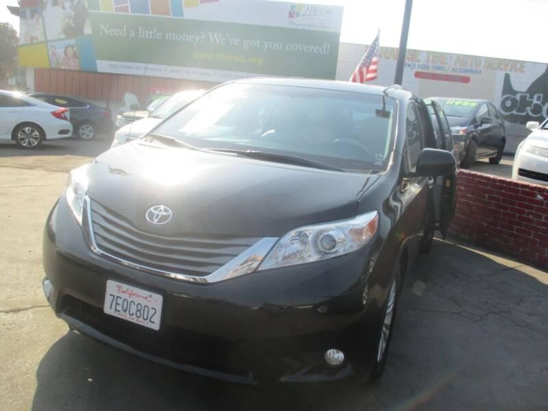 2014 Toyota Sienna for sale at Quick Auto Sales in Modesto CA