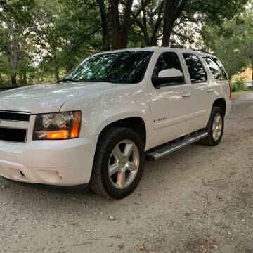 2008 Chevrolet Tahoe for sale at BARROW MOTORS in Caddo Mills TX