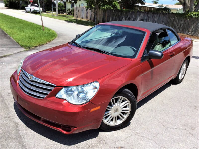 2008 Chrysler Sebring for sale at LESS PRICE AUTO BROKER in Hollywood FL