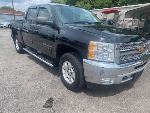 2012 Chevrolet Silverado 1500 for sale at Allen's Auto Sales LLC in Greenville SC