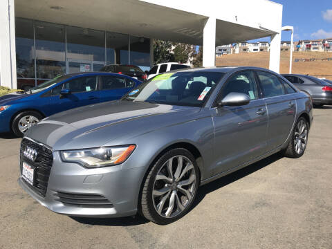 2013 Audi A6 for sale at Autos Wholesale in Hayward CA