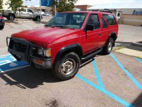 1987 Nissan Pathfinder for sale at Classic Car Deals in Cadillac MI