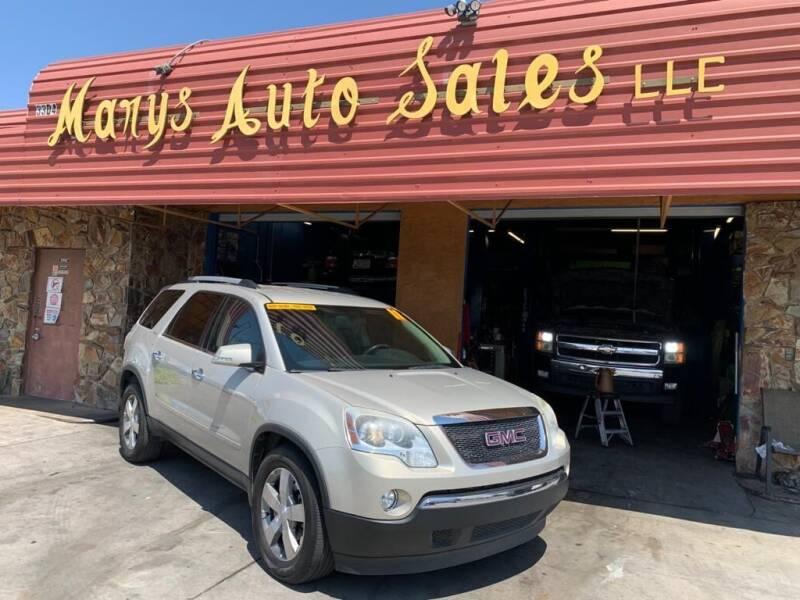 2011 GMC Acadia for sale at Marys Auto Sales in Phoenix AZ