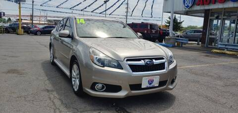 2014 Subaru Legacy for sale at I-80 Auto Sales in Hazel Crest IL