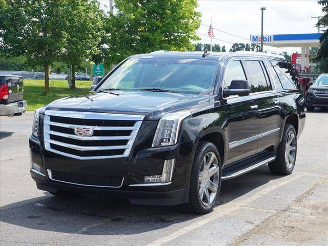 2016 Cadillac Escalade ESV for sale at FOWLERVILLE FORD in Fowlerville MI