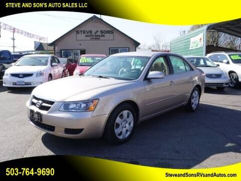 2008 Hyundai Sonata for sale at Steve & Sons Auto Sales in Happy Valley OR