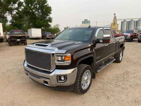 2018 GMC Sierra 3500HD for sale at Truck Buyers in Magrath AB