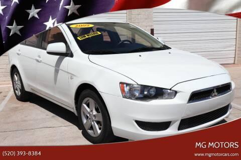 2009 Mitsubishi Lancer for sale at MG Motors in Tucson AZ
