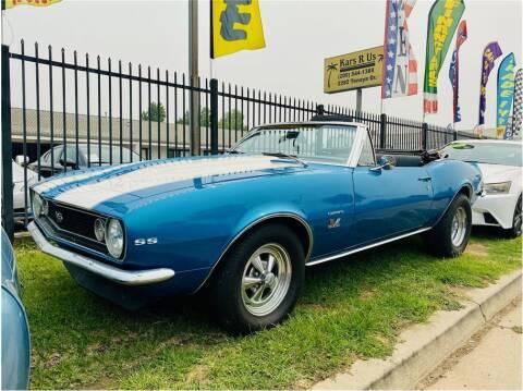 1967 Chevrolet Camaro for sale at KARS R US in Modesto CA