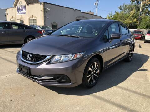 2015 Honda Civic for sale at AAA Auto Wholesale in Parma OH