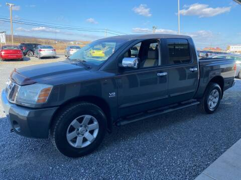 2004 Nissan Titan for sale at Tri-Star Motors Inc in Martinsburg WV