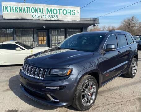 2015 Jeep Grand Cherokee for sale at International Motors Inc. in Nashville TN