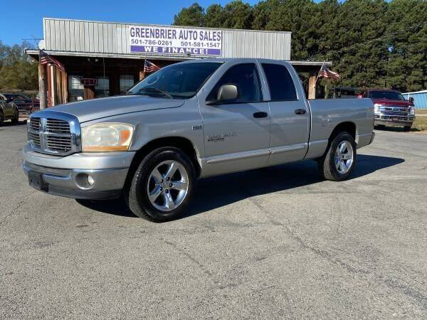 2006 Dodge Ram Pickup 1500 for sale at Greenbrier Auto Sales in Greenbrier AR