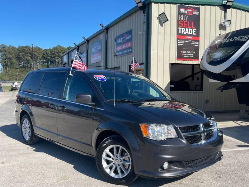 2019 Dodge Grand Caravan for sale at Premium Auto Group in Humble TX