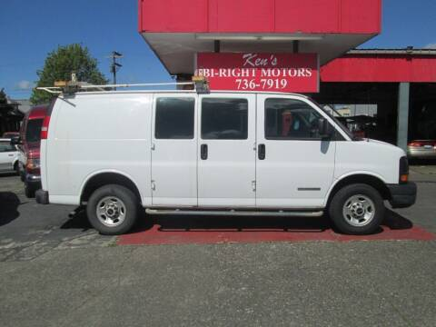 2005 GMC Savana Cargo for sale at Bi Right Motors in Centralia WA
