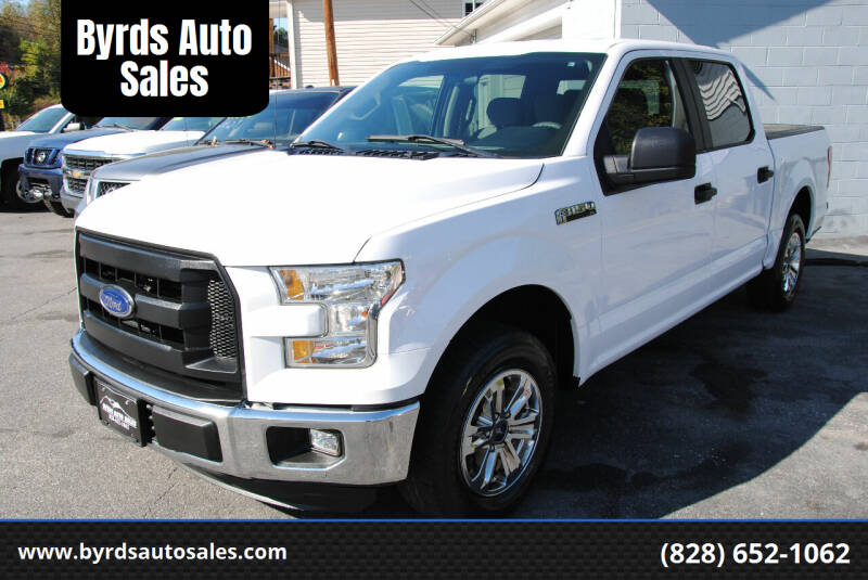 2016 Ford F-150 for sale at Byrds Auto Sales in Marion NC