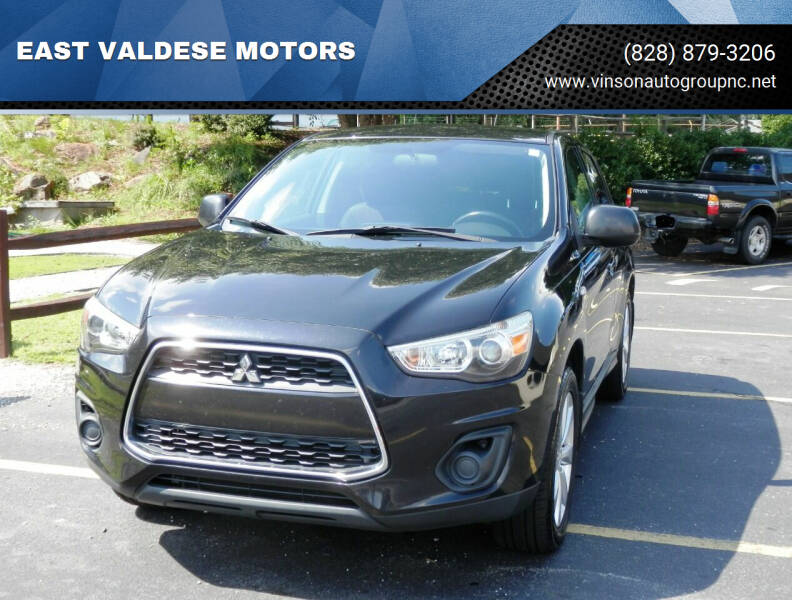 2014 Mitsubishi Outlander Sport for sale at EAST VALDESE MOTORS / VINSON AUTO GROUP in Valdese NC