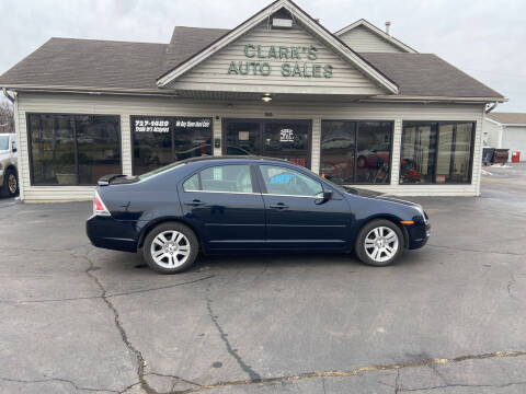 2009 Ford Fusion for sale at Clarks Auto Sales in Middletown OH