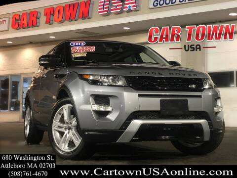 2013 Land Rover Range Rover Evoque for sale at Car Town USA in Attleboro MA