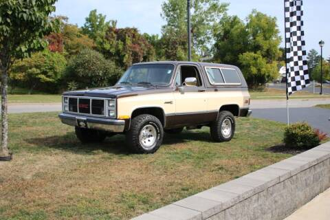 1986 GMC Jimmy for sale at Great Lakes Classic Cars & Detail Shop in Hilton NY