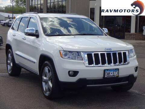 2012 Jeep Grand Cherokee for sale at RAVMOTORS 2 in Crystal MN