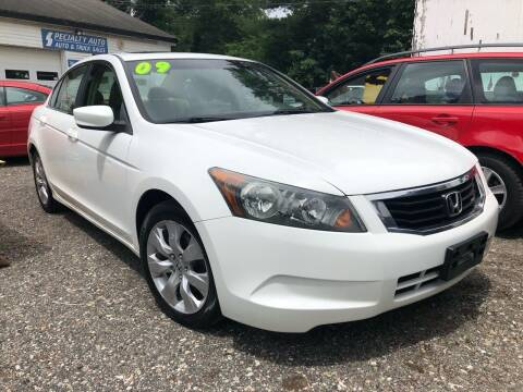 2009 Honda Accord for sale at Specialty Auto Inc in Hanson MA