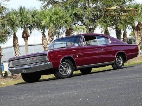 1966 Dodge Charger for sale at SURVIVOR CLASSIC CAR SERVICES in Palmetto FL