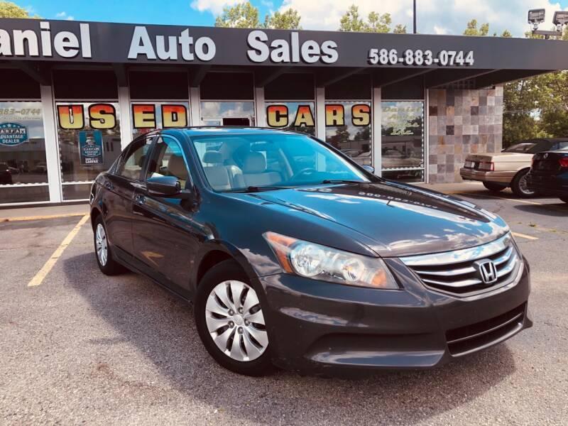 2011 Honda Accord for sale at Daniel Auto Sales inc in Clinton Township MI