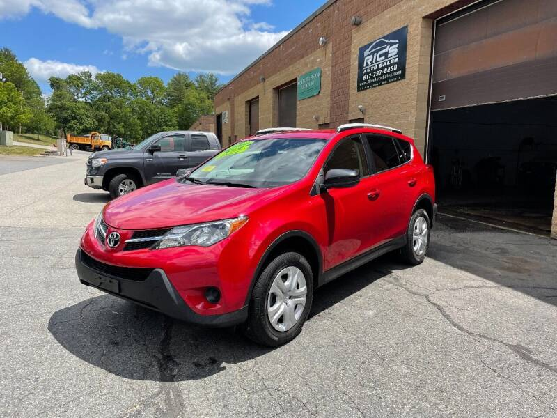 2014 Toyota RAV4 for sale at Ric's Auto Sales in Billerica MA