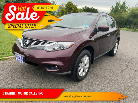 2014 Nissan Murano for sale at STRAIGHT MOTOR SALES INC in Paterson NJ