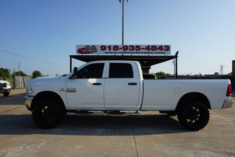 2017 RAM Ram Pickup 2500 for sale at Ratts Auto Sales in Collinsville OK