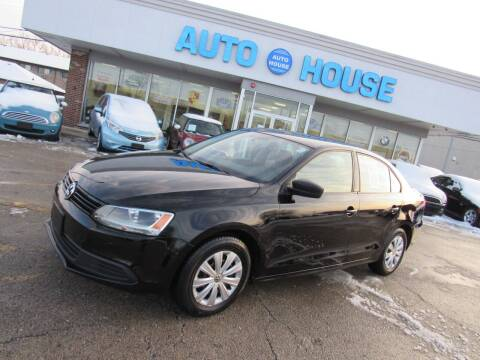 2011 Volkswagen Jetta for sale at Auto House Motors in Downers Grove IL