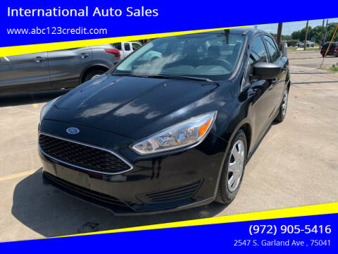 2016 Ford Focus for sale at International Auto Sales in Garland TX