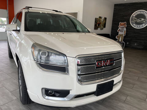 2014 GMC Acadia for sale at Evolution Autos in Whiteland IN