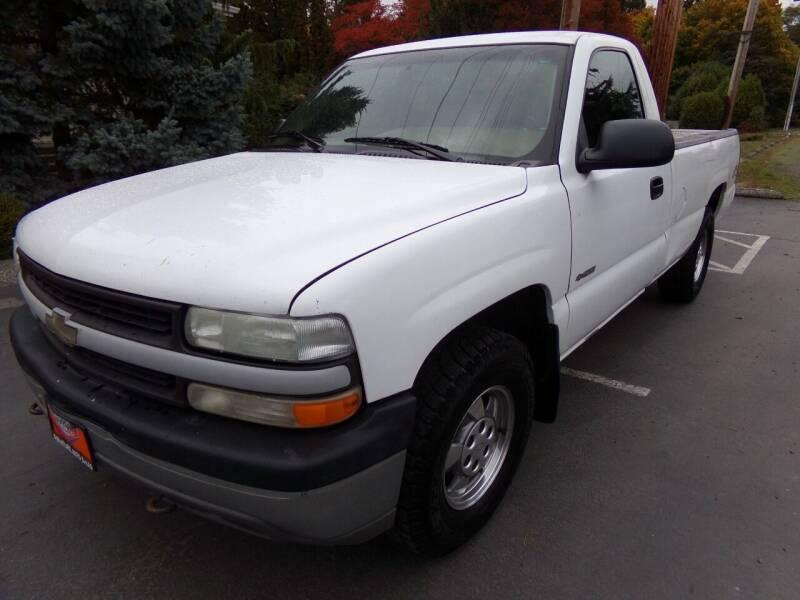 2000 Chevrolet Silverado 1500 for sale at Signature Auto Sales in Bremerton WA