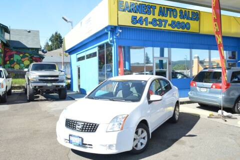 2009 Nissan Sentra for sale at Earnest Auto Sales in Roseburg OR
