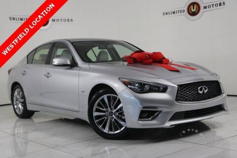 2020 Infiniti Q50 for sale at INDY'S UNLIMITED MOTORS - UNLIMITED MOTORS in Westfield IN